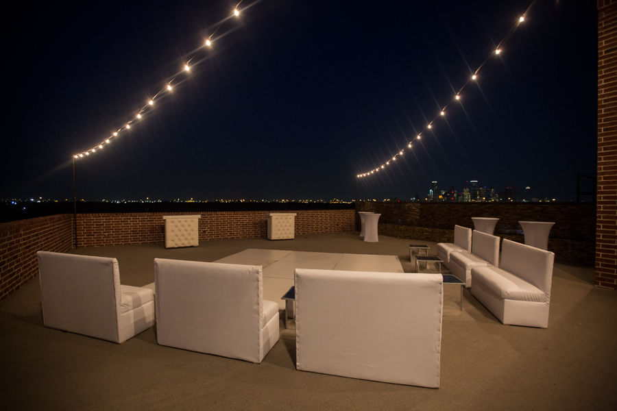 Rooftop Holiday Party Houston