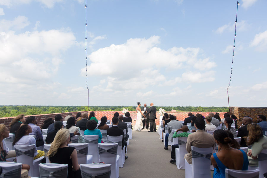 Rooftop Vow Renewal Venue in Houston