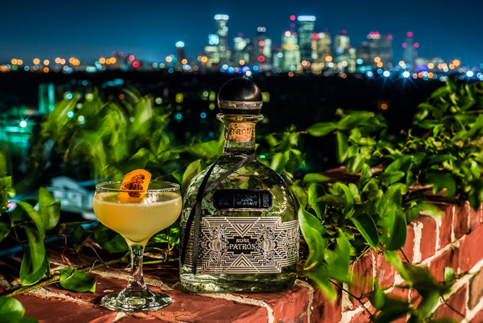 Patron secret dining socirty event at 1111 Studewood